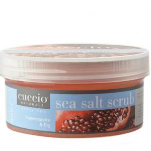 Cuccio - Sels de mer - Exfoliant - Pomme Grenade & Figue