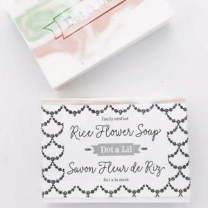 Dot & Lil - Savon Fleur de riz
