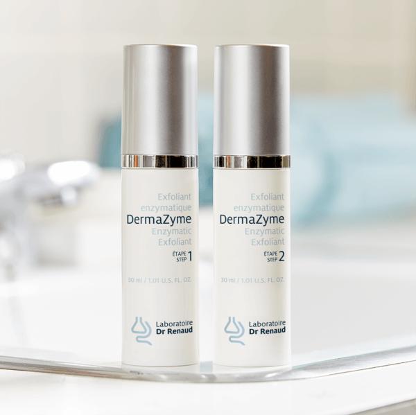 Laboratoire Dr Renaud - exfoliant - acné peaux sensibles - anti-âge anti-ride |Promotion Boutique en ligne esthétique soins visage et corps Longueuil