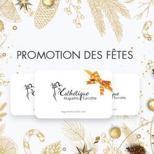 carte-cadeau cartes-cadeaux esthéticienne Longueuil soins spécialisés anti-âge, anti-ride | promotion Chèque-cadeau