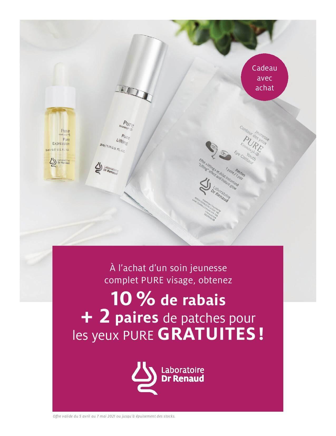 Promotion | Laboratoire Dr Renaud | Esthéticienne Longueuil